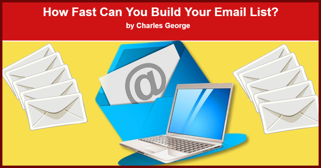 How Fast Can You Build Your Email List? - Publish to Thrive