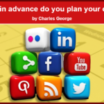 How far in advance do you plan your content?
